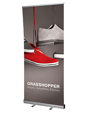 grasshopper pull-up banner sheffield